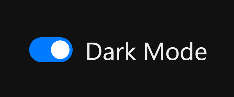 The simplest CSS variable dark mode theme